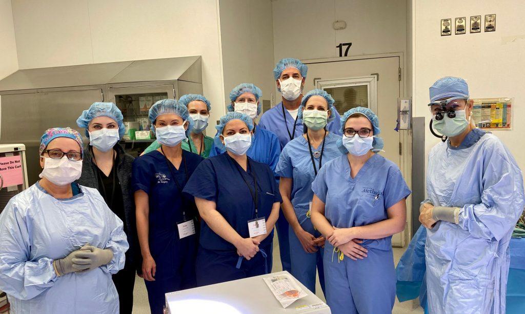Attendees of Dr. Spiegel's Preceptorship Program